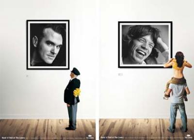la musica y la publicidad son creativas y se reinventan