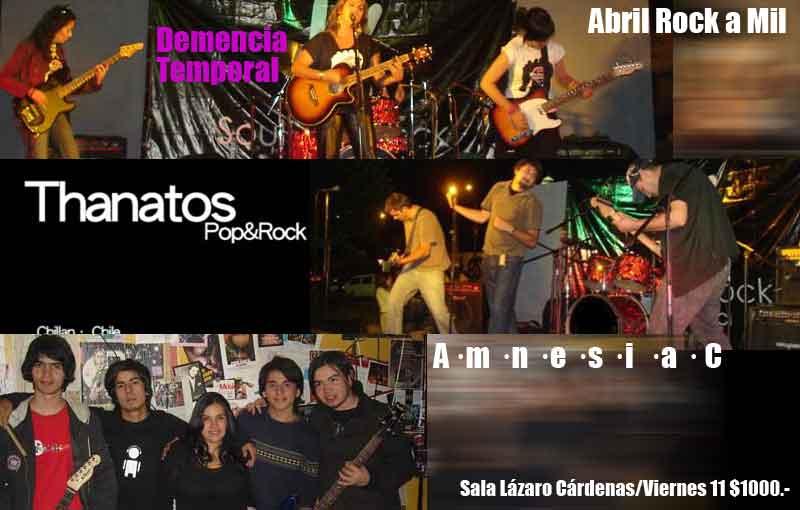 Platos Fuertes para Una Cena Rock&Pop de Chillán