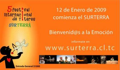 En Chillán...5to Festival internacional de Títeres